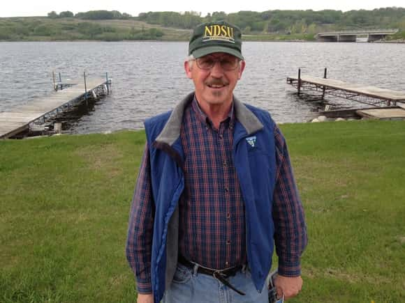 Richard Maine of Fesseden, North Dakota.