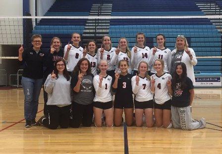 LLM Volleyball Wins Valley City Optimist Tournament | News Dakota