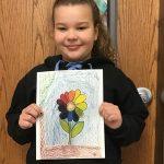 Addison Gerhardt-Traveling Art Winner.