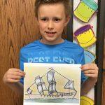 Mason Dahl-Traveling Art Winner.