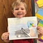 Zach Anderson-Junior Duck Stamp Honorable Mention.