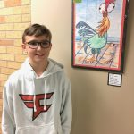 Washington Elementary student Collin Compson's artwork, titled