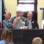 Pat Howe: Eats pickled eggs.