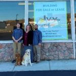 Handy Home & Hardware: L to R; Manager Joel Gortmaker and owners Megan and Tony Zarbano.