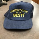 Census Fun Hat: Valley City Mayor Carlsrud to wears this hat during the next City Commission meeting.