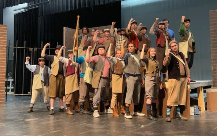 """JHS Theater Presents """"Newsies"""" June 24th & 25th"""