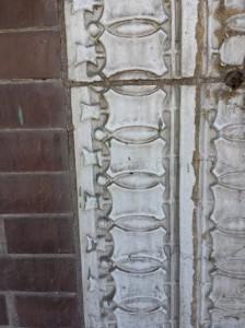 Decorative facade concrete work