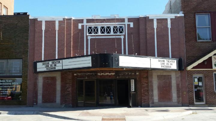 Grand Theater windows