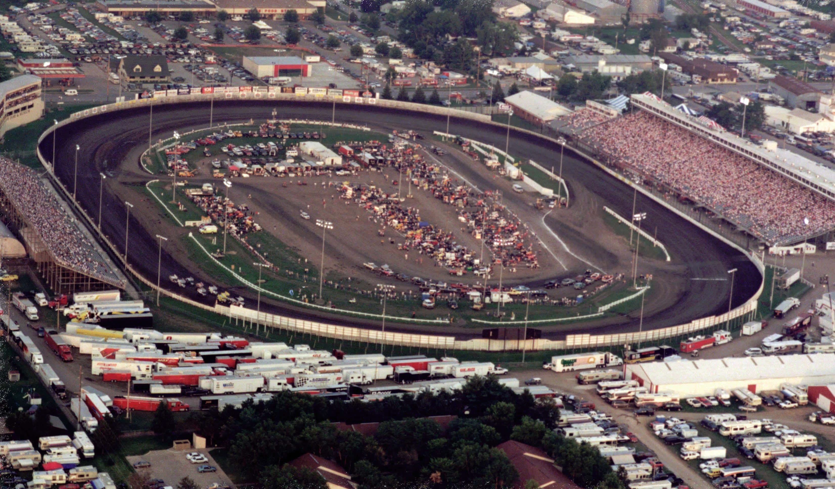 Raceway from above