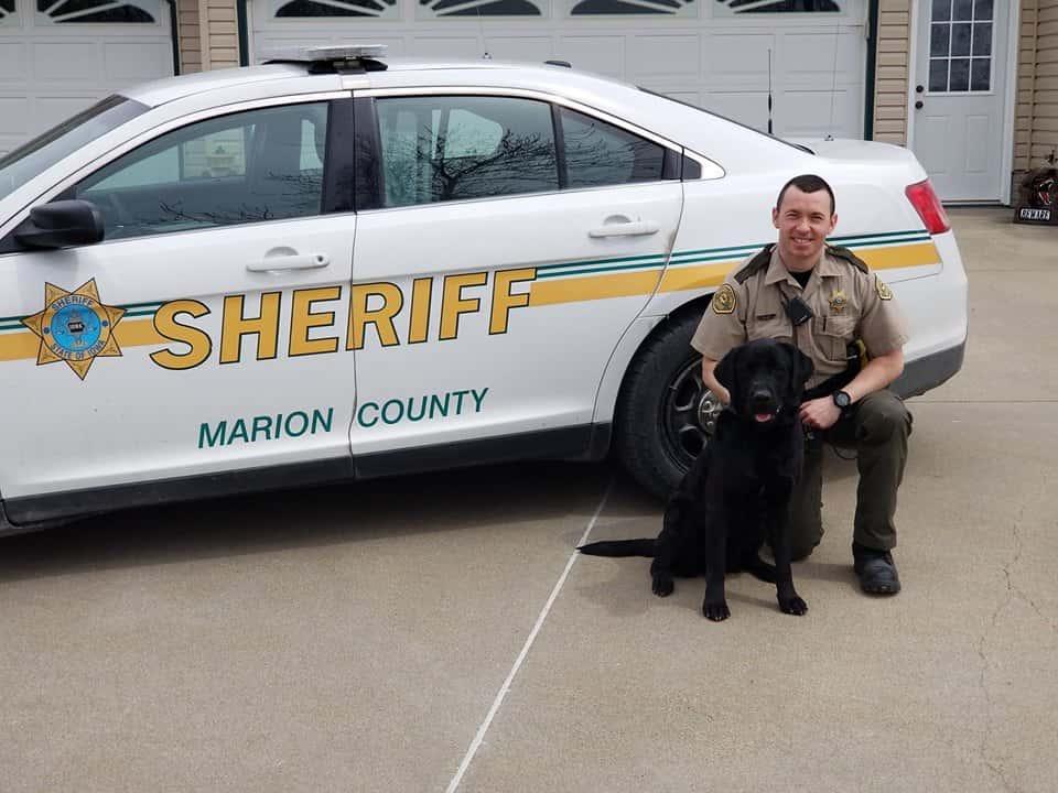 K9 Deputy Dallas Patrolling Marion County   KNIA KRLS Radio