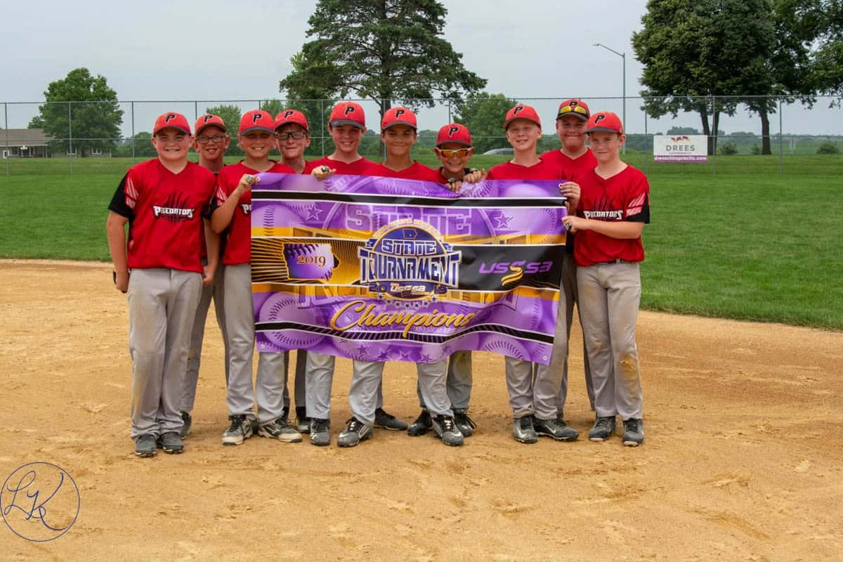 Pella Youth Baseball Teams Win State Titles | KNIA KRLS Radio - The