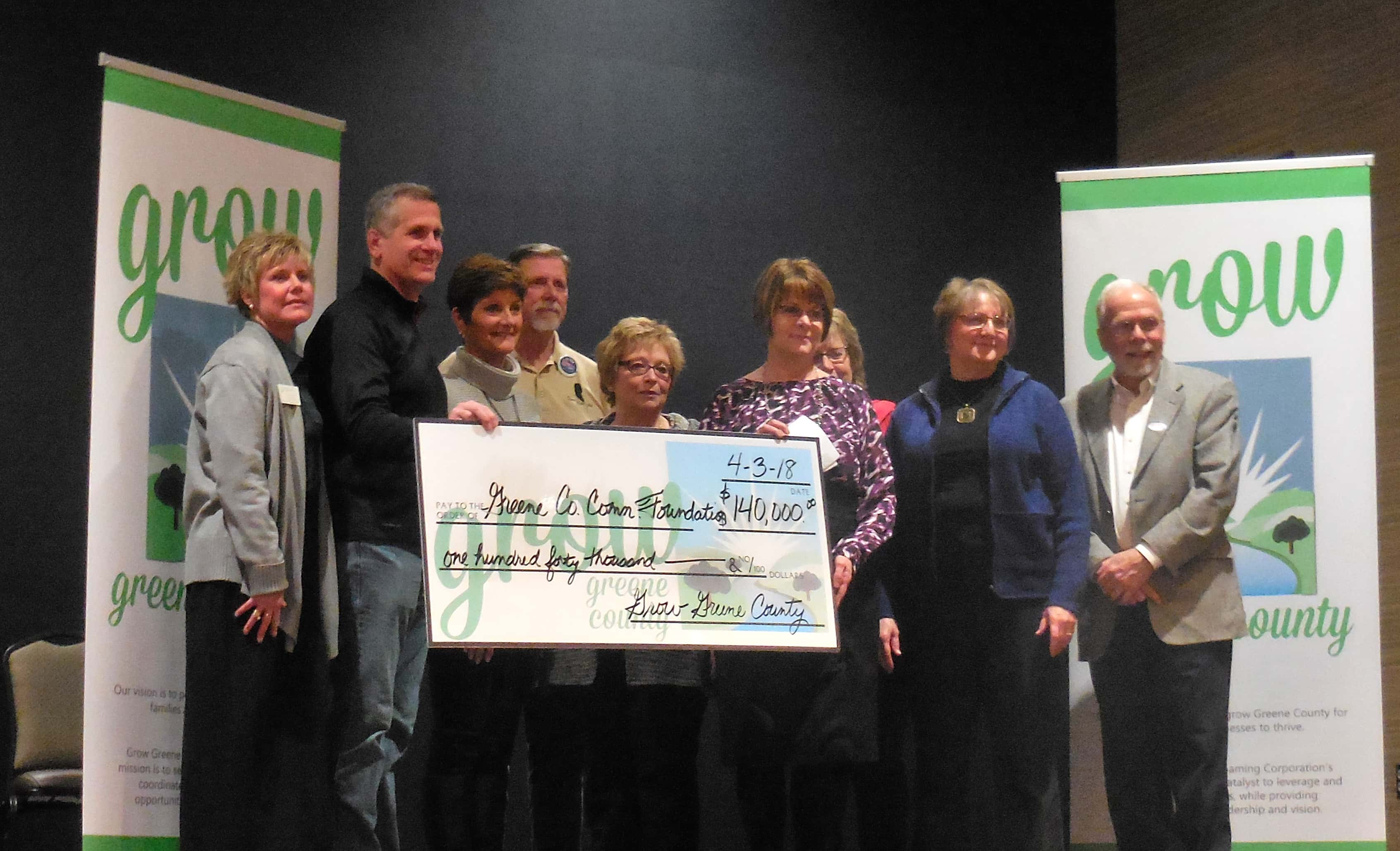 Greene County Community Foundation Grant Ceremony is Monday
