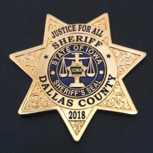 Dallas Co Sheriff Badge