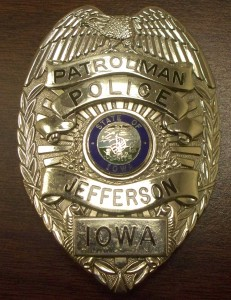 Jefferson Police Badge