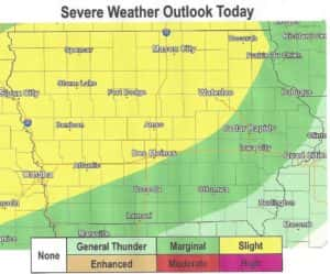 Severe Weather Map
