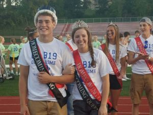2018 ADM Homecoming King and Queen