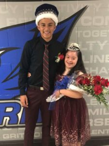2018 Perry HC King and Queen