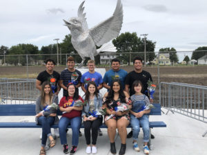 The 2018 Perry Homecoming Court; photo courtesy of Perry High School