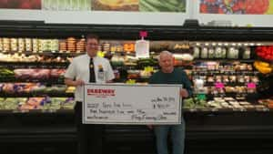 Fareway Toys for Tots 2018 Check