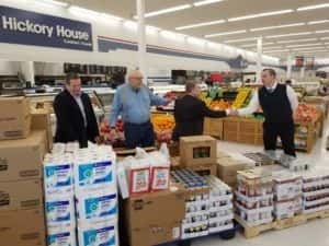 Perry Food Bank Donation 3