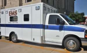 Greene County EMS ambulance