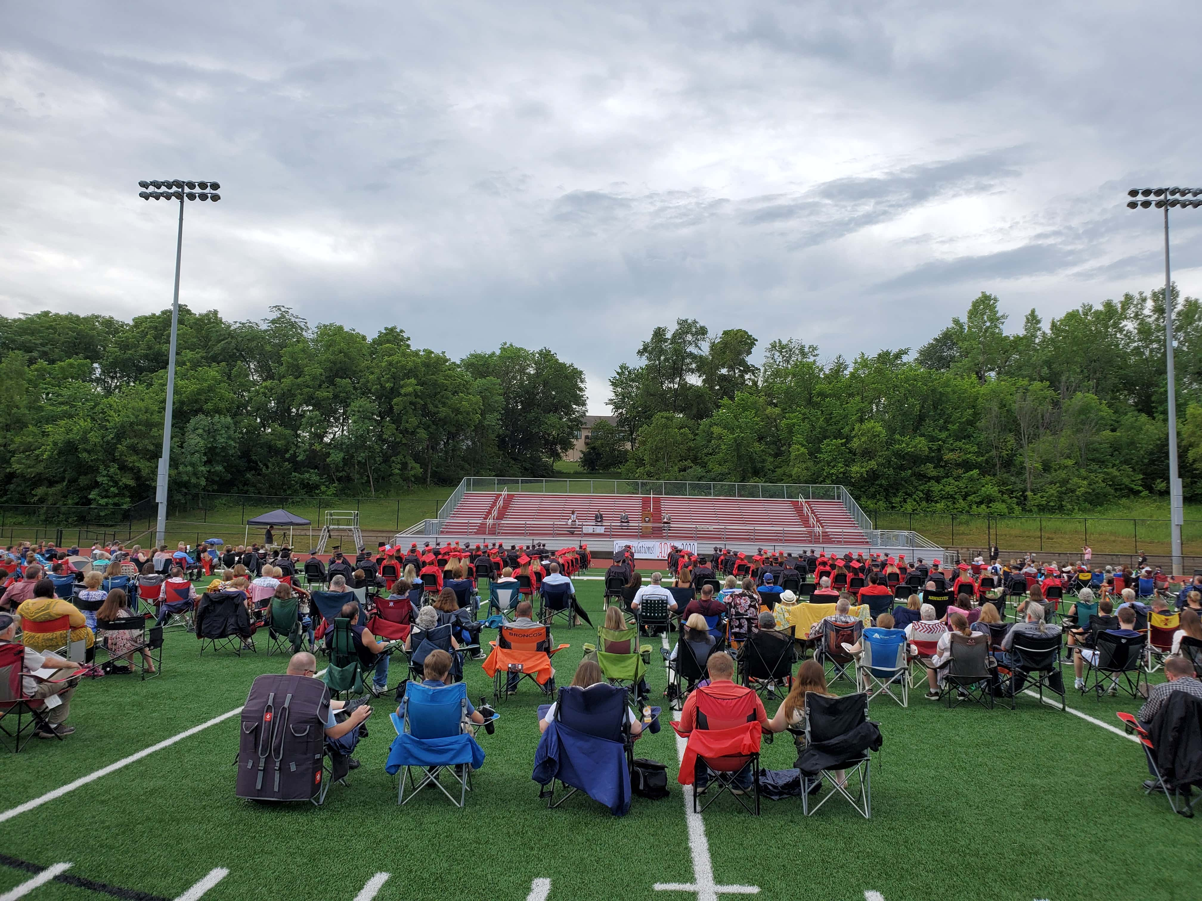 Adm Celebrates Class Of 2020 With Outdoor Graduation Ceremony Raccoon Valley Radio The One To Count On