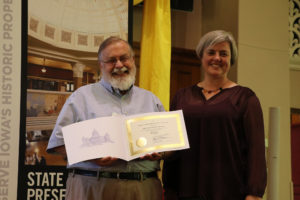 Blair House Recognized at Preserve Iowa Summit   KCII Radio
