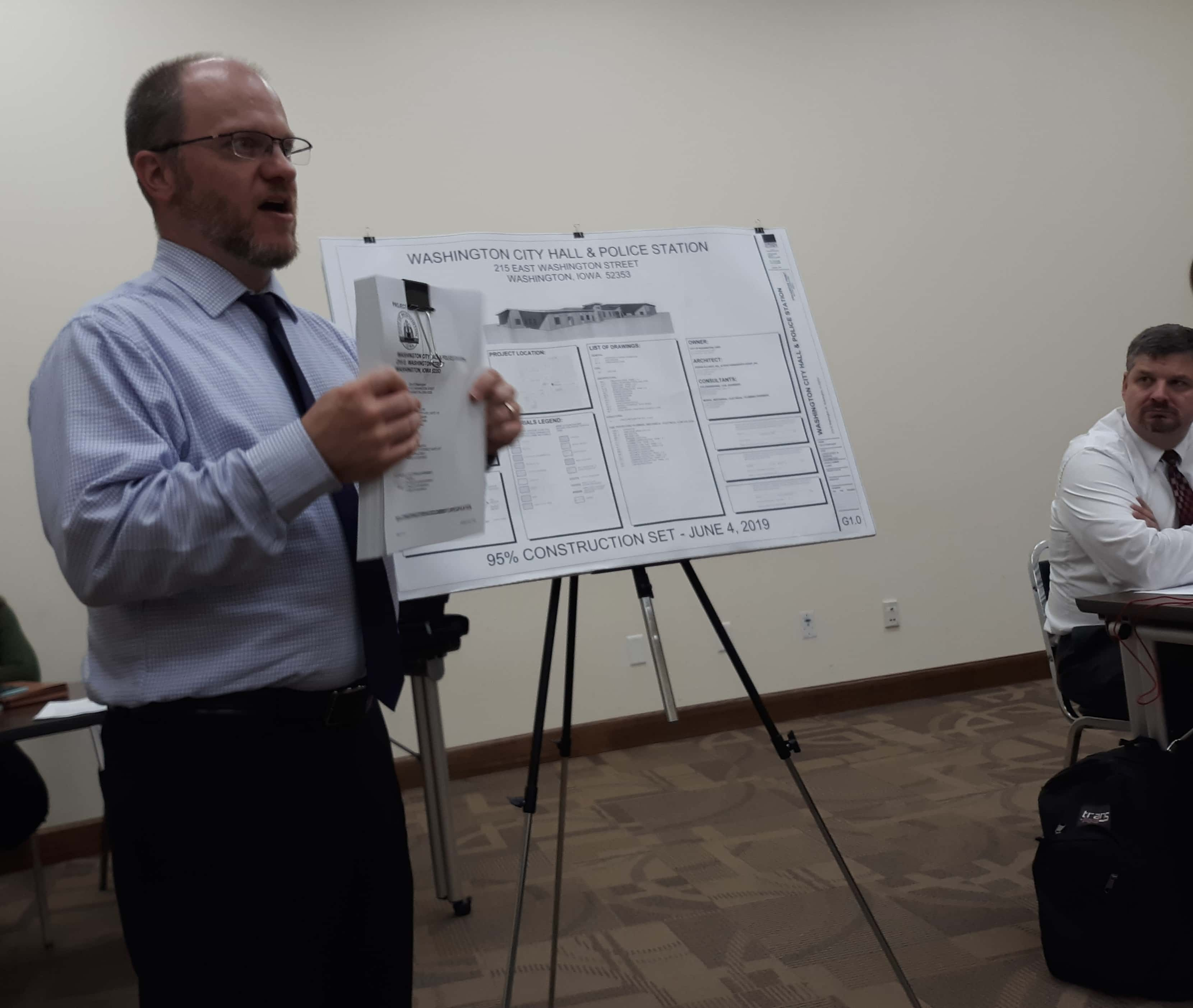 Washington City Hall and Police Station Project Bids to be