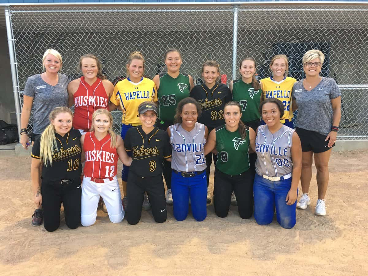 Superconference Senior Softball All-Stars Face Off With River Valley