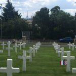 Griffith-Suresnes-American-Cemetery: Photo by Morgan Griffith:Suresnes American Cemetery is a separate location with graves of mostly World War I American dead. Notice the Eiffel Tower in the background.