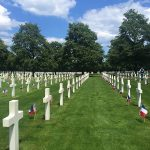 Griffith-Normandy-American-Cemetery: Photo by Morgan Griffith:Normandy American Cemetery is near the site of the landings on D-Day, where many of the dead of Omaha Beach are buried, including First Lieutenant Benjamin Kearfott of Martinsville.