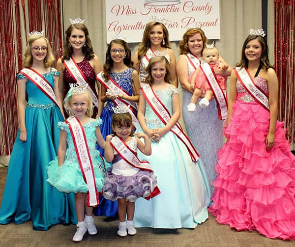 Miss Franklin County Ag Fair Pageant seeking contestants
