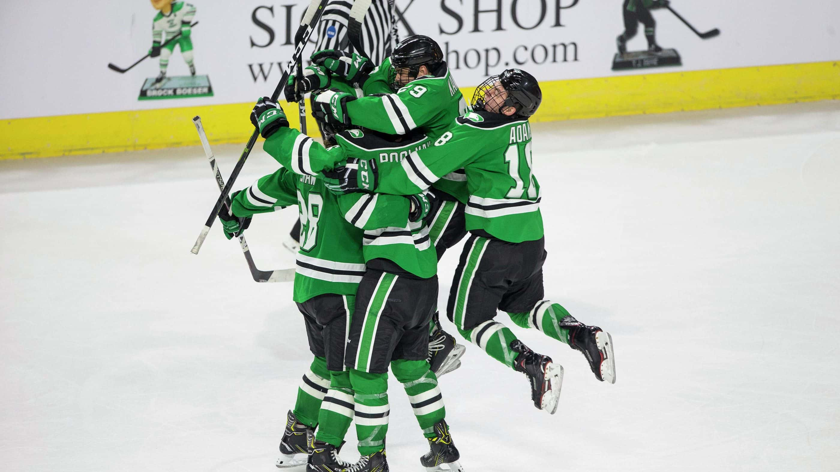 Video Previewing Und S Quarterfinal Series Against Denver The