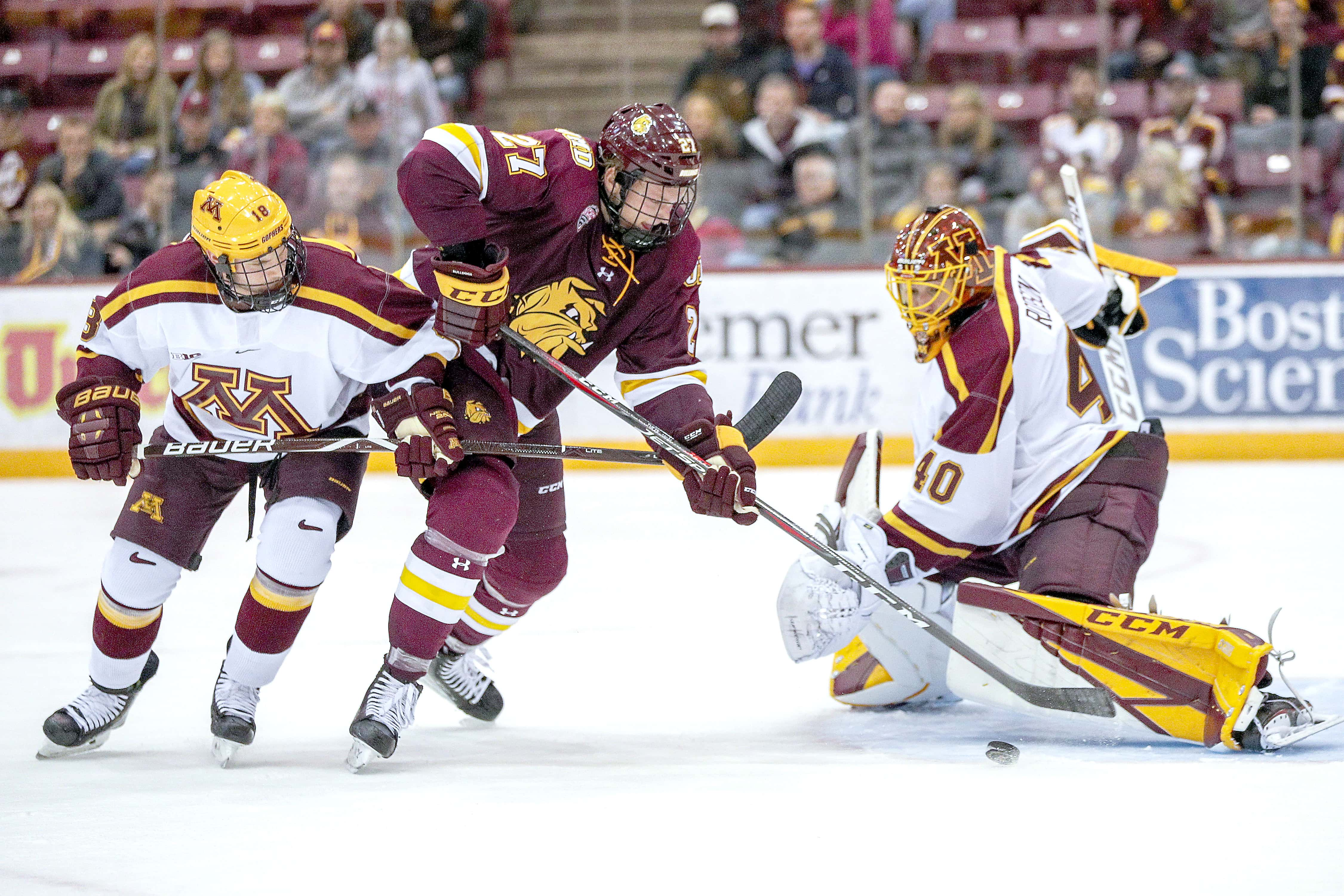 online store e3b9e 5f208 Gophers hockey notebook: 3 nominated for the Hobey Baker ...