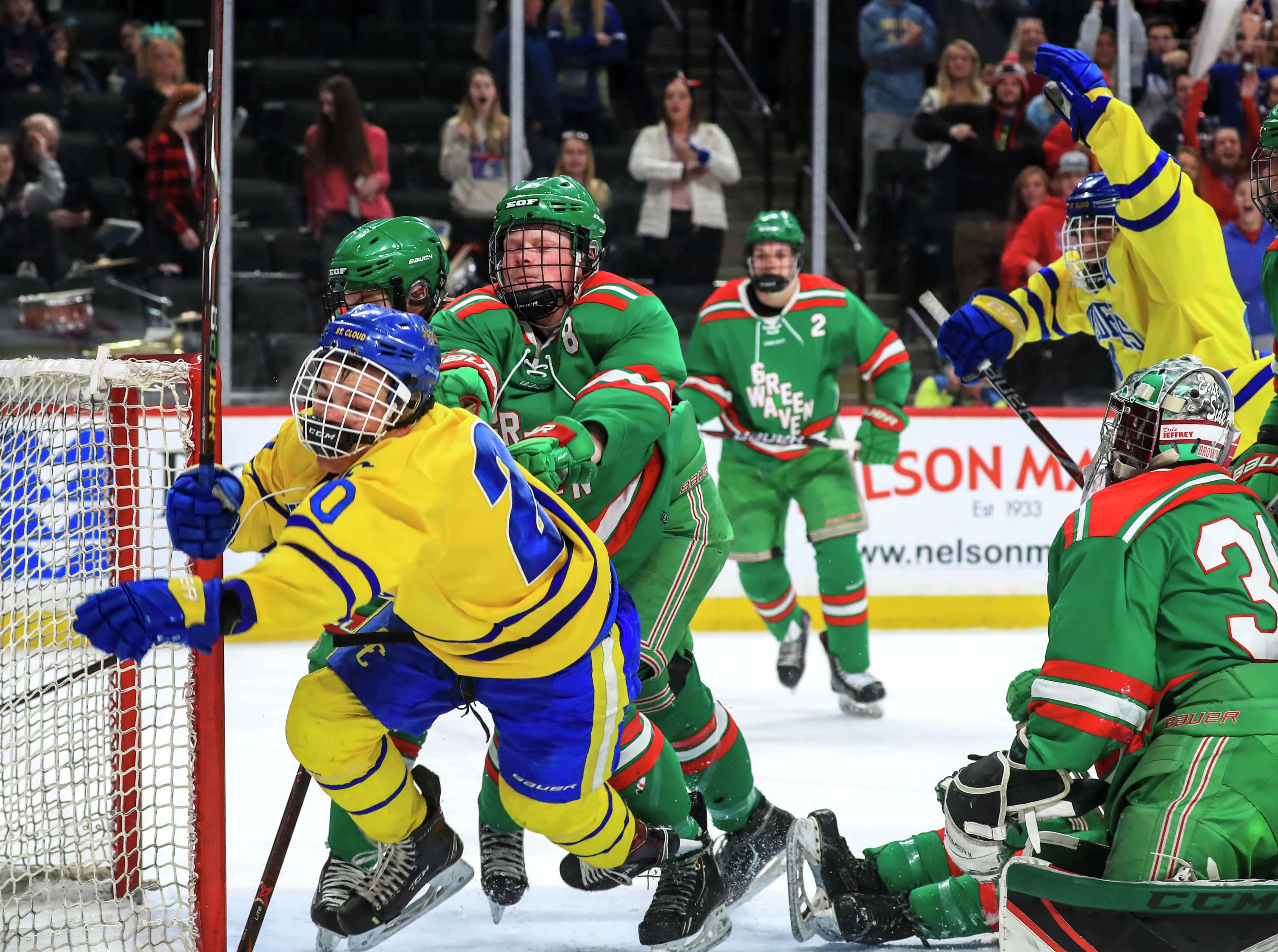 Second Seeded Cathedral Knocks Out East Grand Forks In Semifinals