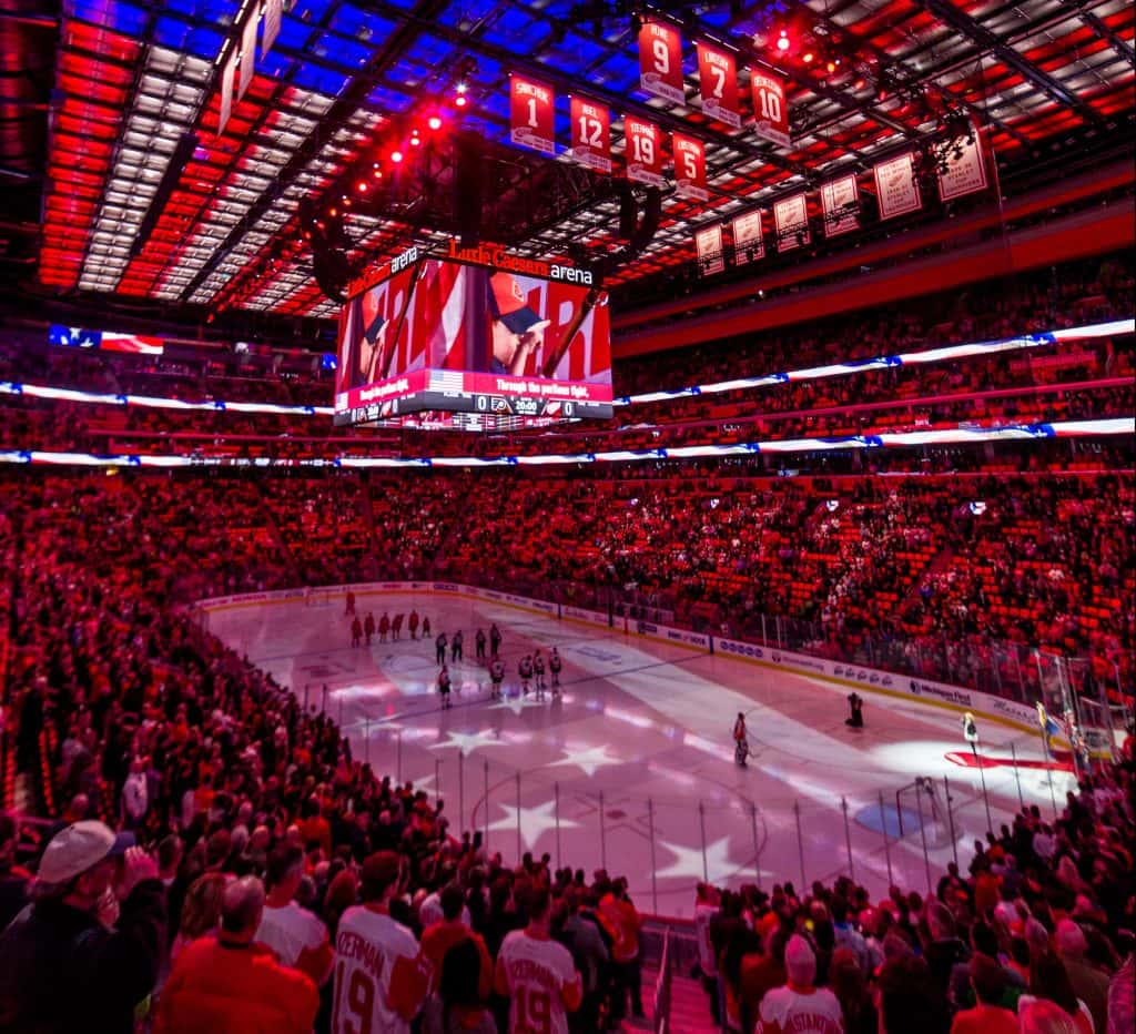 ... 2020 Frozen Four venue Little Caesars Arena in Detroit, Mich., has already hosted college hockey games like the annual Great Lakes Invitational .