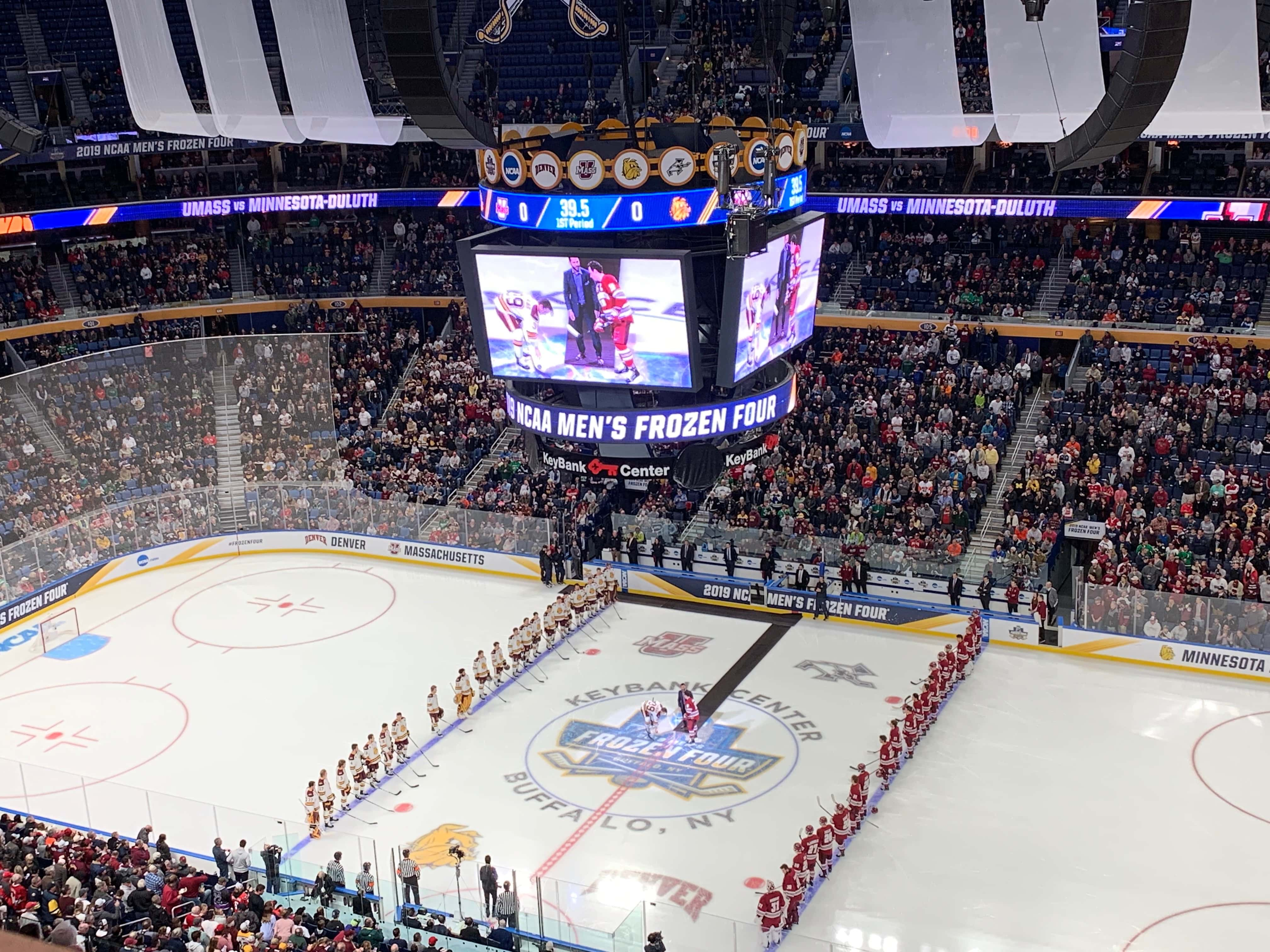Frozen Four Poll Results St Paul Tops The List Followed By Tampa