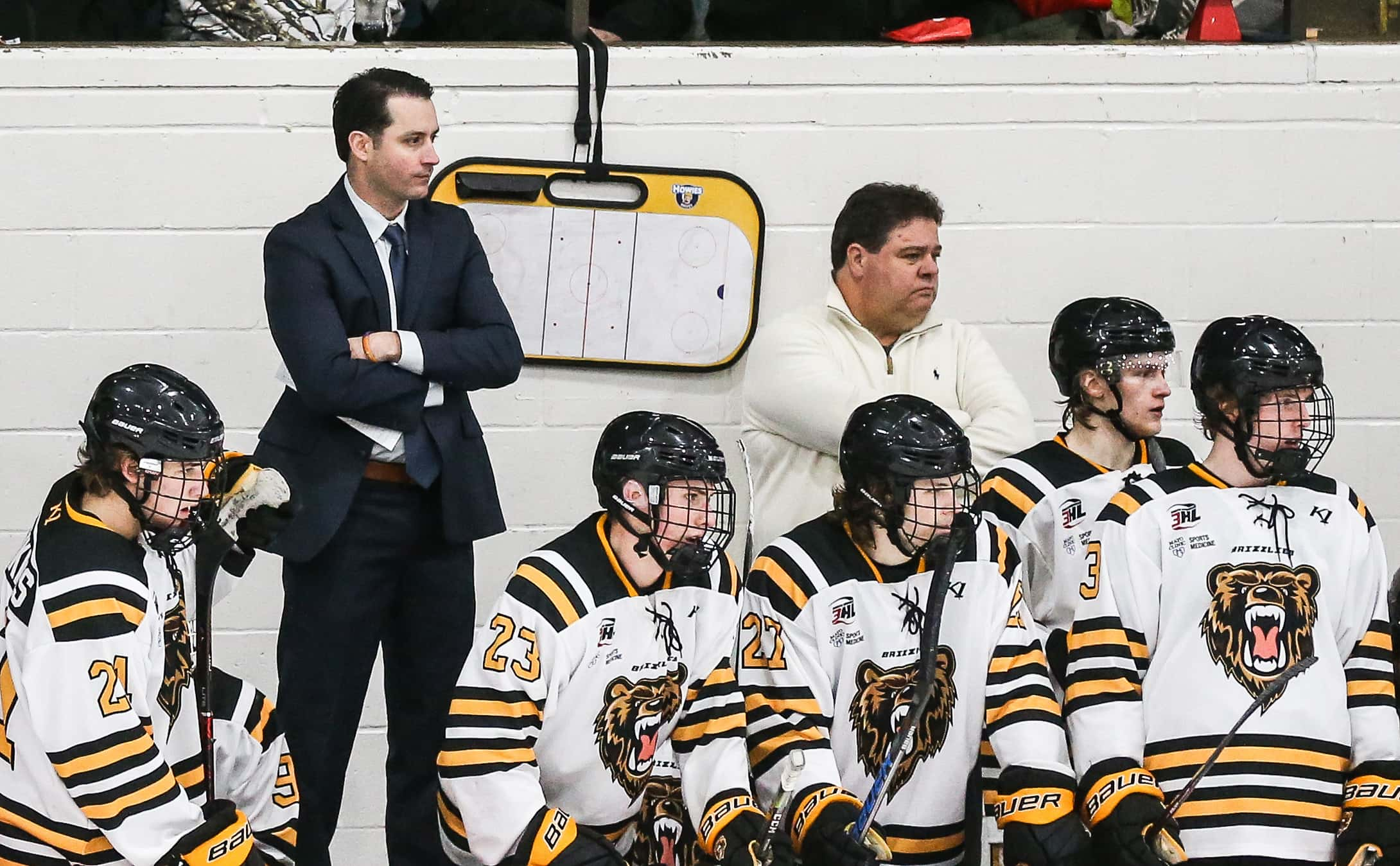 Rochester Grizzlies coach leaving to become NAHL assistant