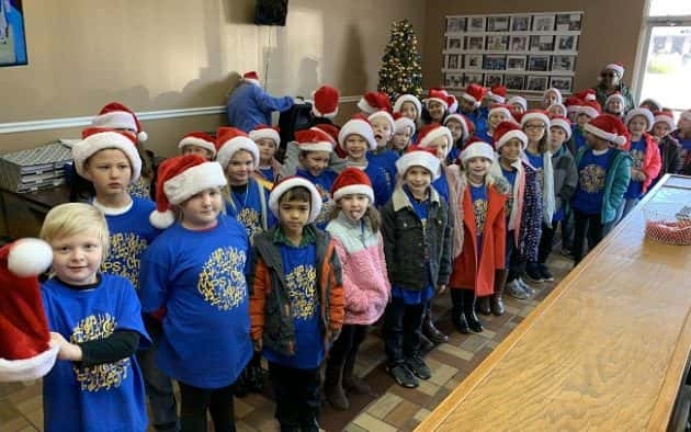 103.3 Christmas Music 2020 CCPS Second Grade Choir Serenades WPKY with Christmas Carols