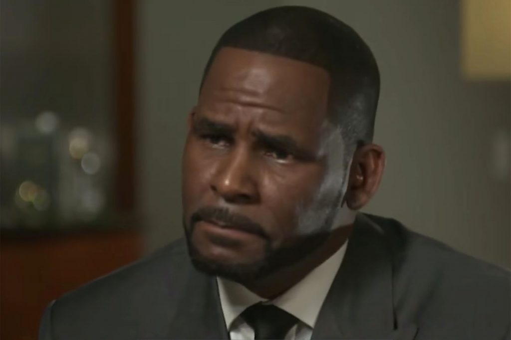 R. Kelly Cries, Yells Straight Into the Camera in First TV ...
