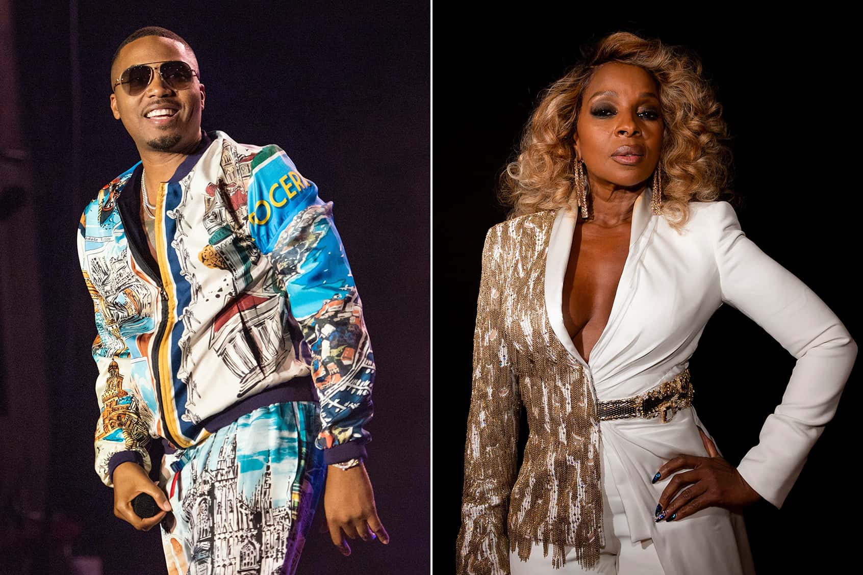 Mary J  Blige And Nas Reunite On New Track,