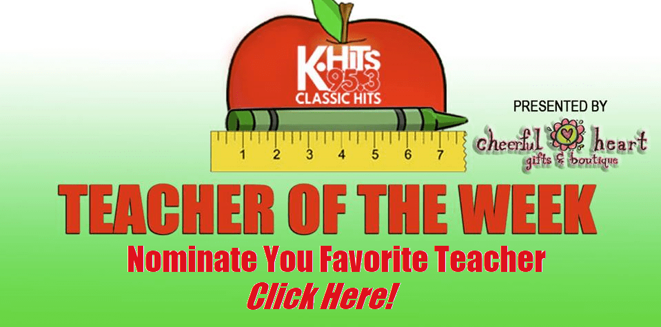 Nominate Your Favorite Teacher Now!