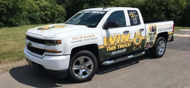 VFW's Conducts Pick-Up Truck Raffle To Benefit Sheriffs