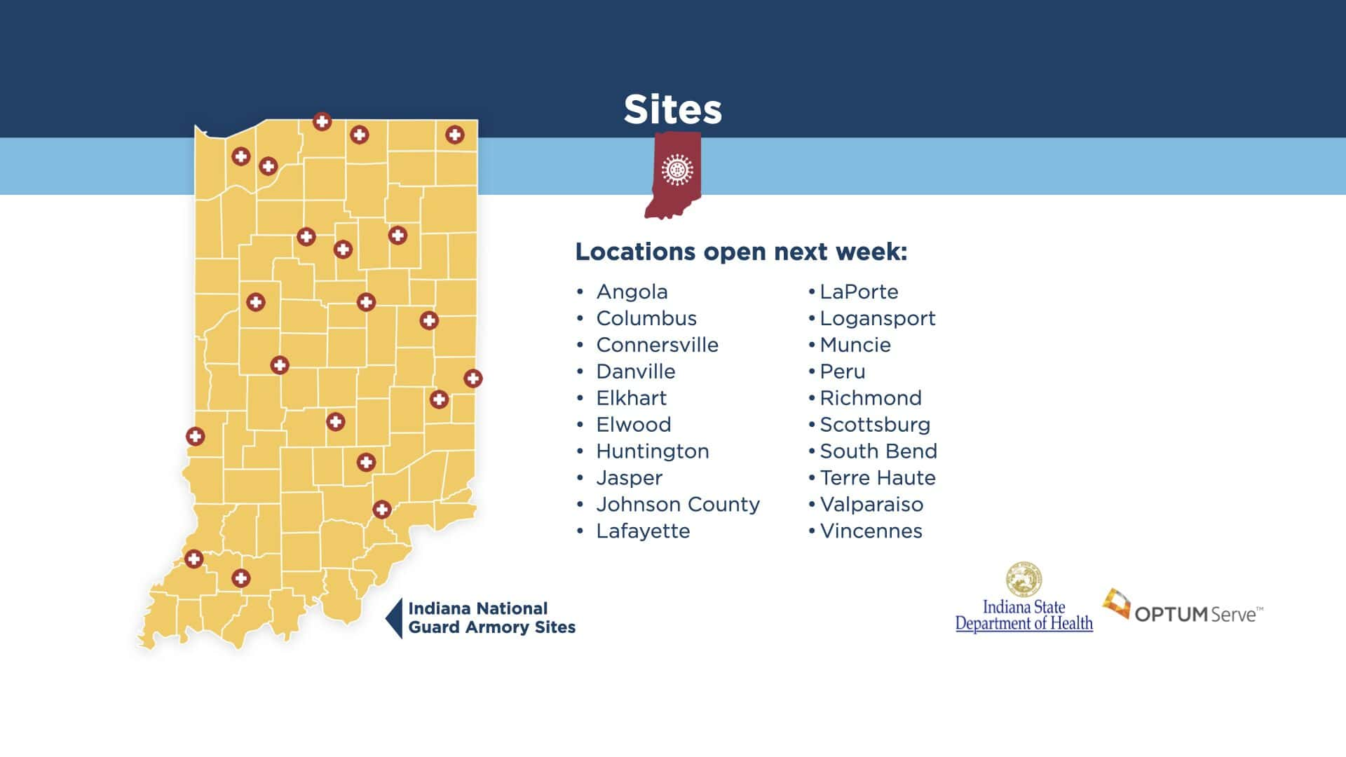 COVID-19 Test Sites To Open Across Indiana In Next Seven ...