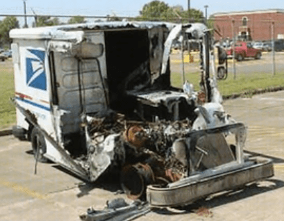 Postal Trucks Are Catching Fire 104 9 Waxi