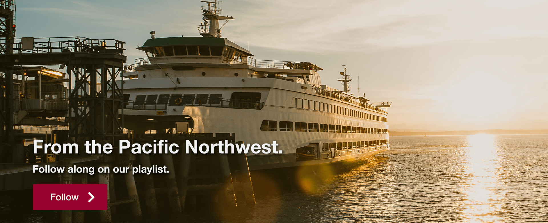 From the Pacific Northwest. Follow along on our playlist.