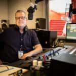 Host Ted Askew Inside Master Control