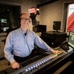 Mike Brooks Inside KING FM Master Control