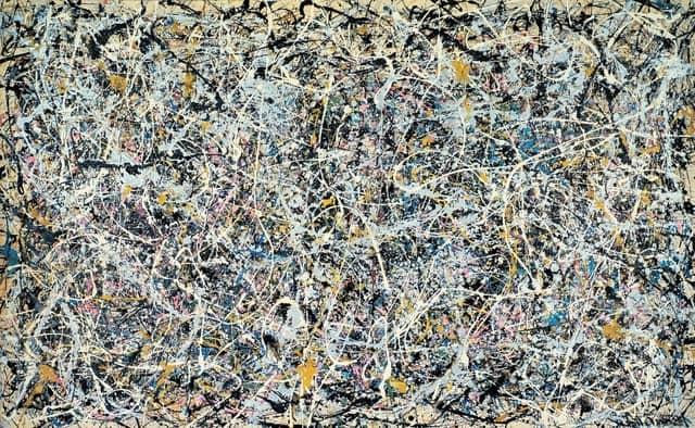 Artwork by Jackson Pollock