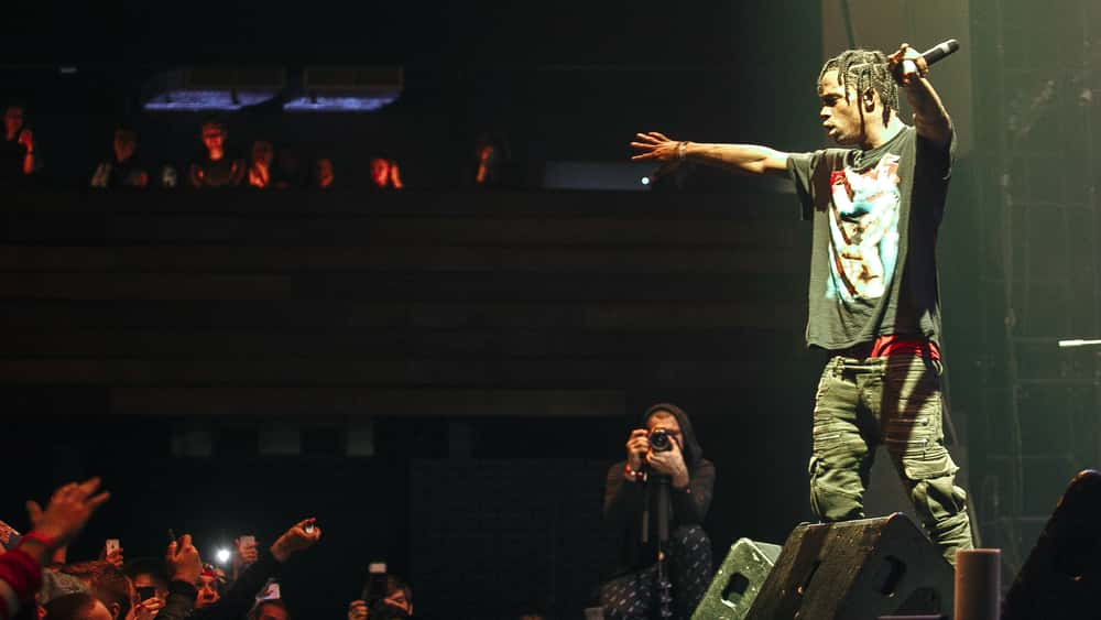 "Travis Scott Releases New Song To Streaming ""Highest In"